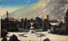6418) TRENTO, PIAZZA DANTE, MONUMENTO E GIARDINO PUBBLICO.