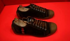 $719.00 !! GUCCI  LUXURY MEN'S BROWN LEATHER SNEAKERS SHOES MARKED SIZE 7 G
