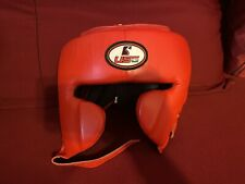 Usg cowhide leather Classic Training Cheek Protection Boxing Headgear sparing