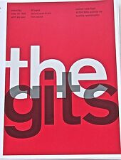 The Gits  ROCK AND ROLL BAND MINI POSTER CONCERT  REPRINT -FLAMMABLE