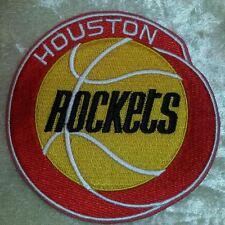 "Houston Rockets NBA 4"" Iron On Embroidered Patch~USA~FREE Ship"