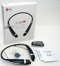 GENUINE LG Tone Pro HBS-760 Wireless Headphones BLACK Bluetooth Phone Headset -B