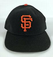 San Francisco Giants Baseball Hat Black Orange 'SF' New Era 59Fifty Size 7