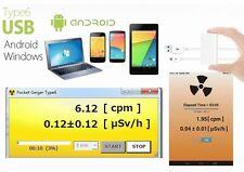Pocket Geiger Type6 Strahlenmessgerät, Geigerzähler f. Android, Windows