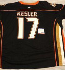 Ryan Kesler Signed Autographed Anaheim Ducks Jersey Stanley Cup Psa/Dna