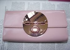 Mimco Turnlock Blossom Pink large wallet