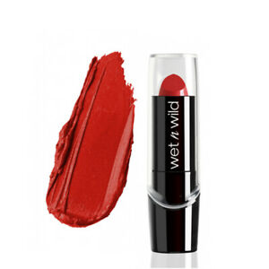 WET N WILD Silk Finish Lipstick - Raging Red (Free Ship)