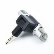 3.5mm Mini Stereo Microphone Speaker- Mobile Phone Laptop Audio Recording Mic US