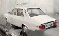 1/43 DACIA 1300 (RENAULT 12) TAXI BUCHAREST 1980 COCHE DE METAL A ESCALA