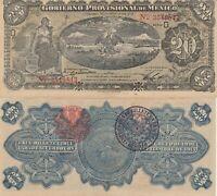 Mexico: 20 Pesos DOUBLE SEAL Gobierno Provisional de Mexico 1914 UNC.