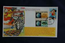 Wonder Woman Silver Age 47c Forever Stamp Combo Fdc Bullfrog S#5151 11826 W/1410