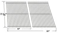 BBQTEK GSF2818K, GSF2818KL, Perfect Flame SLG2007B, 63033, 64876 SS Cooking Grid
