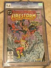 FURY OF FIRESTORM #4 cgc 9.6 Vs. Justice League of America & Killer Frost 1982