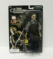 "MEGO 2020 Leatherface Action Figure Texas Chainsaw Massacre 8"" Official New"