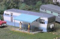 CITY CLASSICS 113 HO ROBERTS ROAD MOBILE HOME BUILDING Railroad Kit FREE SHIP