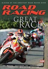 Road Racing - Great Races Vol 2 (New DVD) Dunlop Jefferies Hislop McCallen Amor