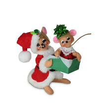 Annalee Dolls 2021 Christmas 5in Holiday Cheer Gift Mice Plush New with Tag