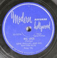 Hear! Blues 78 Gene Phillips - Big Legs / Just A Dream On Modern