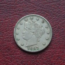 More details for usa 1887 nickel 5 cents