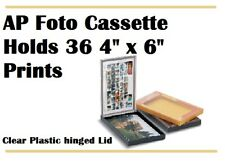 "NEW Foto Cassette 4 ""x 6"" Holds 36 Prints & Negs"