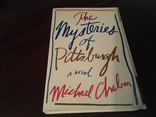 The Mysteries of Pittsburgh by Michael Chabon - Signed Proof