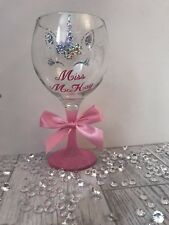 Personalised Unicorn Gin Glass - Any Name - Any Colour - Teacher Gift