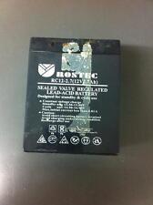 ROSTEC RC12-2.7(12V2.7Ah) Sealed Valve Regulated Lead-Acid Battery