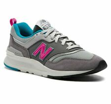 New Balance 997 Gray Suede Blue Pink CM997HAH Classic Running Shoes Mens sz 10.5