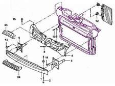VW Beetle 1.8/2.0 CONV Radiator Support bracket OEM new mount mounting frame