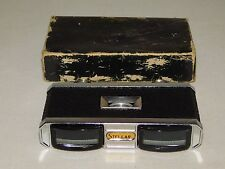 VINTAGE STELLAR OPERA GLASS 3X COATED LENS IN BOX