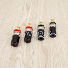 4 Pcs Amplifier Speaker Terminal Binding Post 7mm Banana Socket Connector Best