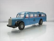 Brekina Mercedes 5000 Touring Bus Berlin Blue 1/87 Scale Good Condition