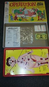 Operation Skill Game Where You're the Doctor Milton Bradley 1997 Complete