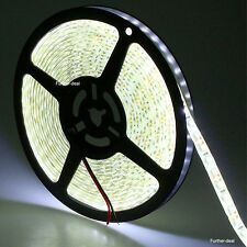 Waterproof Cool White 5M 600Leds SMD 3528 Led Strip Lights Ribbon Super Bright