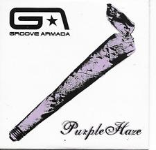 GROOVE ARMADA - Purple haze CD SINGLE 2TR EU Cardsleeve 2002 House Downtempo
