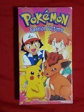 Pokemon fashion victims VHS | Rare Nintendo Cartoon Tape