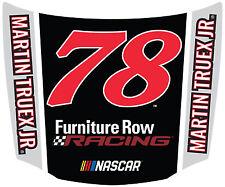 NASCAR #78 Martin Truex Hood Shaped Magnet-NASCAR Magnet