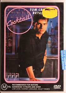 Cocktail DVD - Tom Cruise - Free Post