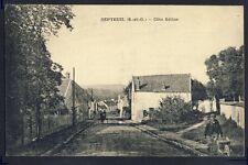 Carte Postale RARE Ecrite en 1922 SEPTEUIL (Yvelines) Côte GILLON Animés