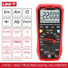 UT61+ Series True RMS Multimeter ACV/DCV 1000V Current Backlight NCV Peak Hold