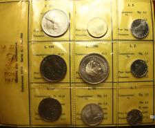 NL* ITALIA DIVISIONALE anno 1970 con 500 Lire e 1000 Lire Argento FDC set Zecca