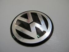 VW STEERING WHEEL EMBLEM BADGE LOGO 45MM for GOLF MK 4 5 6 III IV V VI Black