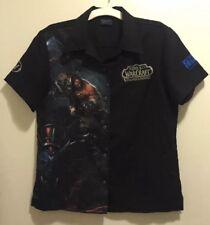 EUC World of Warcraft Warlords Draenor Blizzard Developer Steady Shirt Women's L