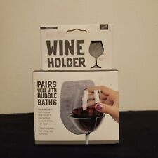 Sipski Wine Holder Wall Bath Wine Mom Fun Party Caddy