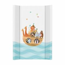 Hard Base Changing Mat Unit 70 x 50 cm to fit 120 x 60 Cot Top - Noah's Ark