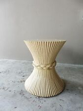VINTAGE McGUIRE SHEET OF WHEAT TABLE BASE