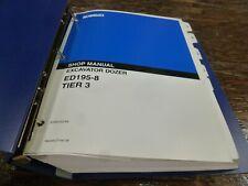Kobelco ED195-8 Tier 3 Excavator Dozer Shop Service Repair Manual