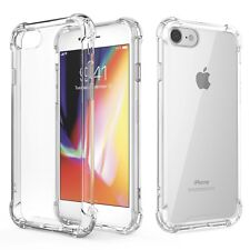 iPhone 8 / 7 Hülle Schutzhülle Transparent Handy Case Cover Bumper Durchsichtig