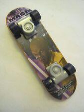 Orange McDonalds Meal Mace Skate Board Finger Board dated 2010 (0008)