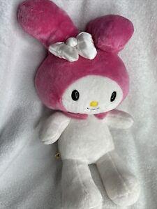 "My Melody Build a Bear Hello Kitty Bunny Rabbit Plush 18""  Sanrio Bow *FLAW"